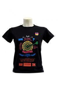 Multicolored graphic