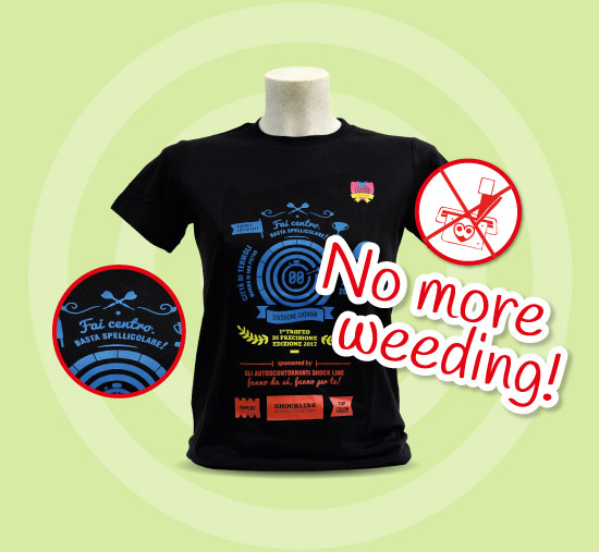 No more weeding!